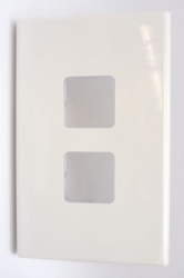 PDL Wall Plate 2 Hole