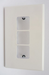 PDL Wall Plate 3 Hole