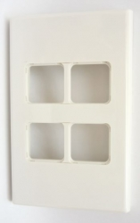 PDL Wall Plate 4 Hole